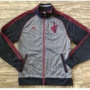Adidas Track Jacket NBA Cleveland Cavaliers Size M
